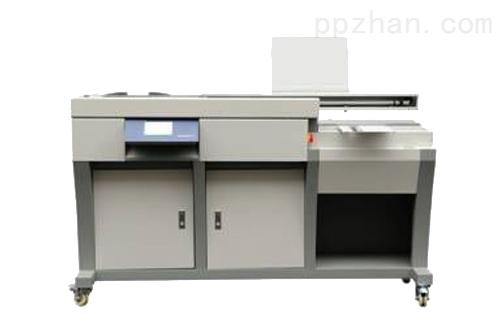 金图数控胶装机:彩色触摸屏设计