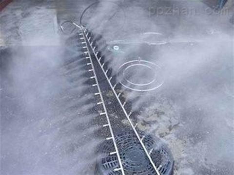 工业降尘喷雾设备 石料厂喷雾降尘设备
