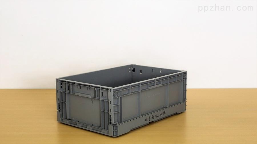 苏州迅盛内倒式折叠箱EU4622塑料箱生产供应