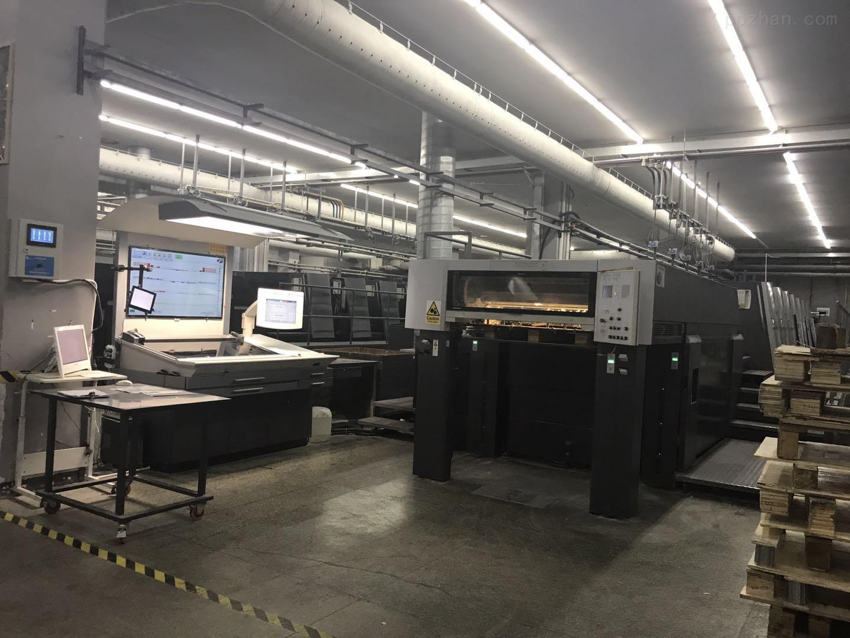 广东二手海德堡印刷机多台75-5型