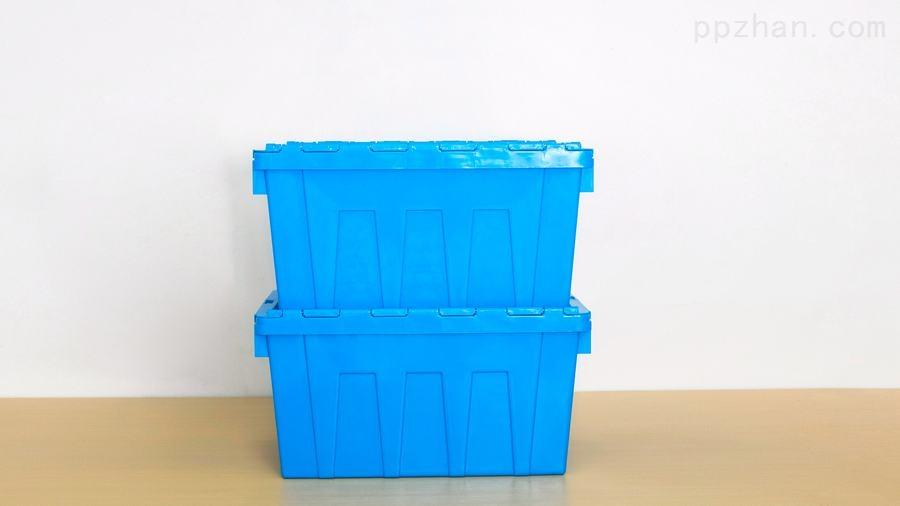 苏州迅盛斜插箱防尘箱320高塑料箱厂家直销